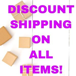 Discounted Shipping On All Items!